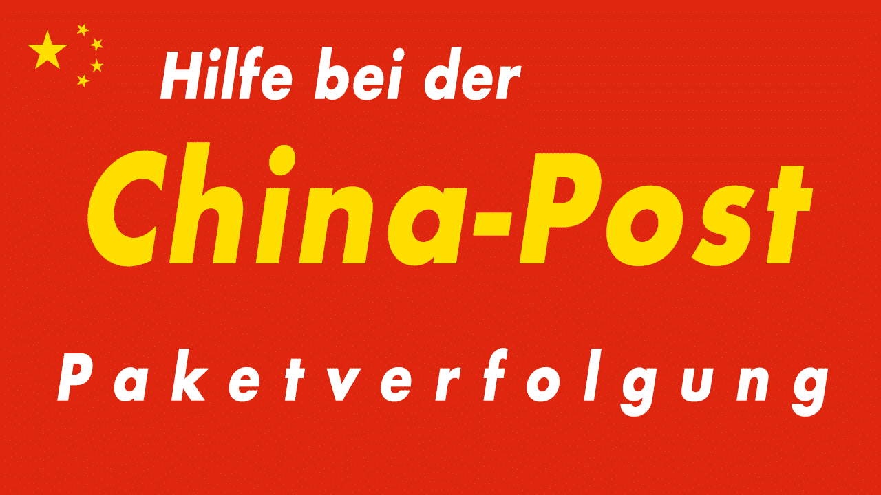 China Post Sendungsverfolgung